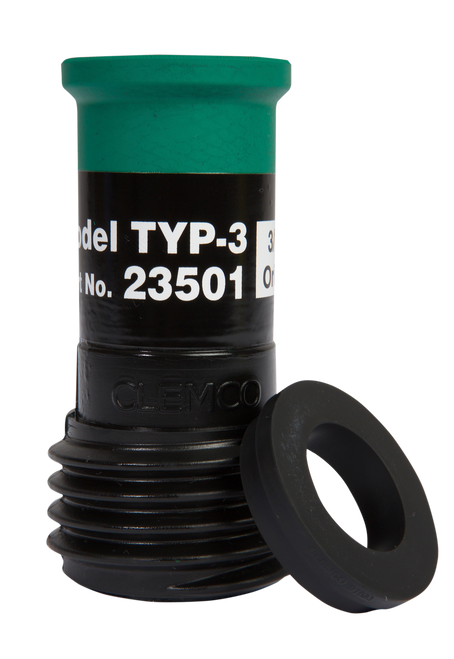 """TYP Contractor Thread Nozzle for Hoses 1"""" ID x 1-7/8"""" OD"""