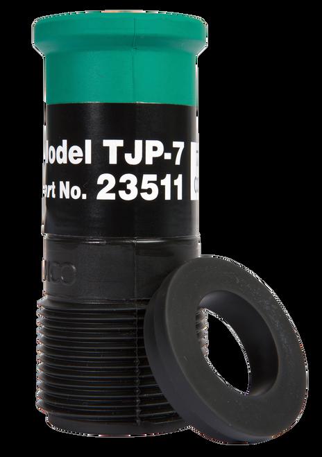 "TJP Standard Thread Nozzle for Hoses 1-1/4"" ID x 2-3/32"" OD"