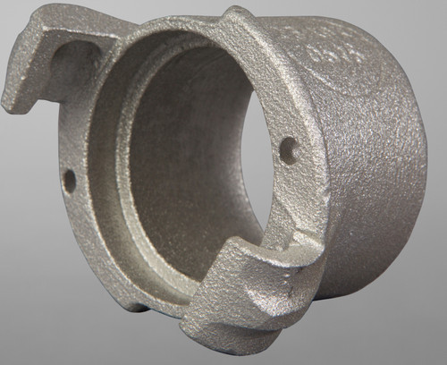 CFFH-A aluminum nozzle holder, Flanged w/Qk Cplg
