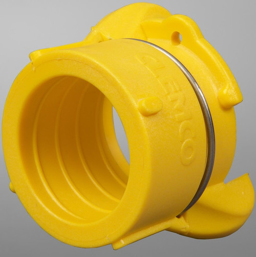 FHP nylon nozzle holder, Flanged w/Qk Cplg