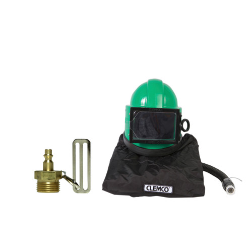 Clemco Apollo 20 HP DLX Supplied-Air Respirator with CFC