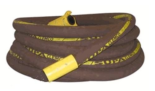 Clemco Supa Blast Hose w/ Coupler & Holder, 50 ft. x 1-1/4 inch I.D.