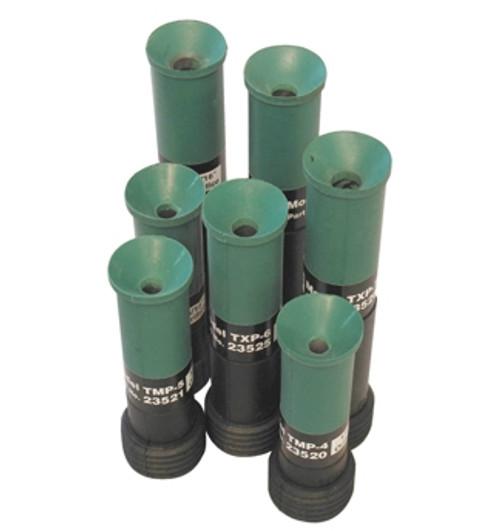 Clemco TXP-6 Blast Nozzle, 1-1/4 inch entry, Tungsten Carbide Lined, Contractor Thread