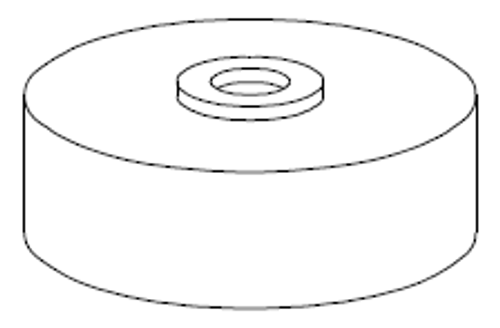 Clemco 1 inch Abrasive trap Cap