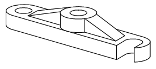 Clemco 1 inch Abrasive trap Cap Lock Bar
