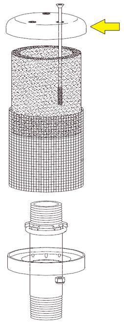 Exhaust Muffler Cap