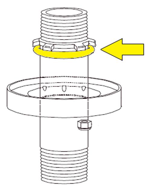 """Exhaust Muffler O-Ring - 1-1/4"""" ID x 1-5/8"""""""
