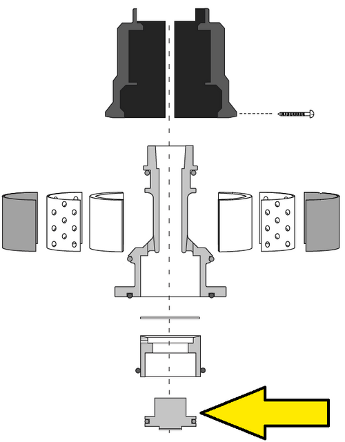 Clemco Millennium Valve Piston