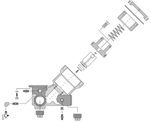 Clemco Millennium Valve Inlet Segment, Standard