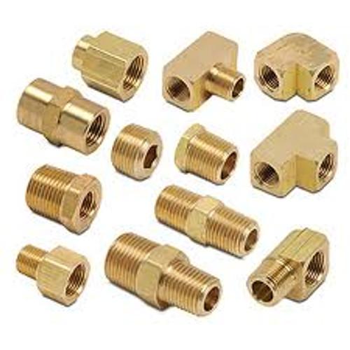 Brass Reducer, 1/4 inch x 1/8 inch