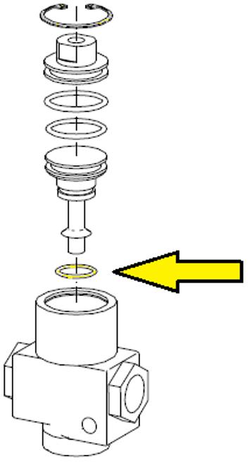 O-ring, 3/4 inch ID x 3/32 inch