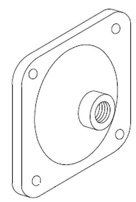 Clemco 1 inch Diaphragm Outlet Valve Cap