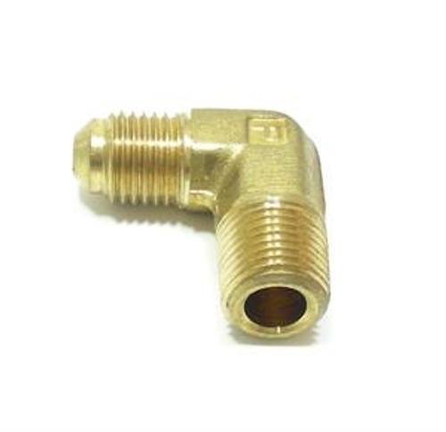 Brass Elbow, 1/8 inch NPT x 3/16 inch Hose