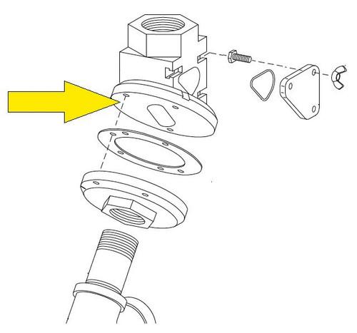 Manual Quantum Valve Upper Body Flange