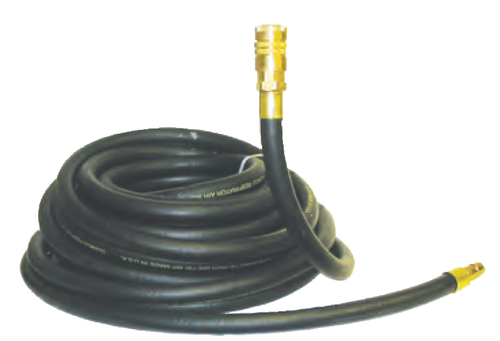 Clemco 100 ft. LP Respirator Hose, 1/2 inch diameter