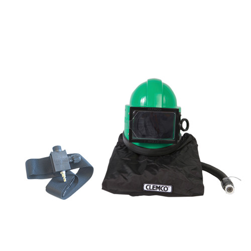 Clemco Apollo 20 HP DLX Supplied-Air Respirator with ACV
