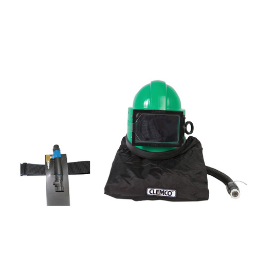 Clemco Apollo 20 HP DLX Supplied-Air Respirator with CCAC