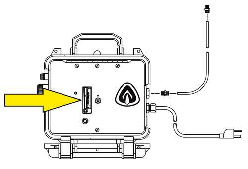 Clemco CMS-2 Flow Meter