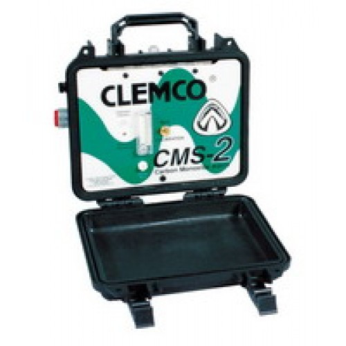 Clemco CMS-2 Carbon Monoxide Monitor, 120 VAC with connector and test gas