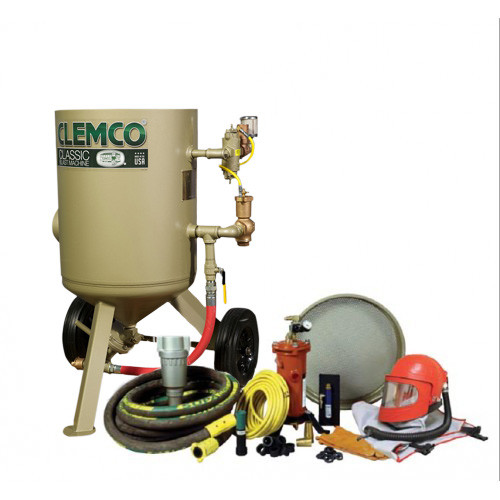 Clemco Model 2452 HP Complete Package, 1-1/4 inch Piping