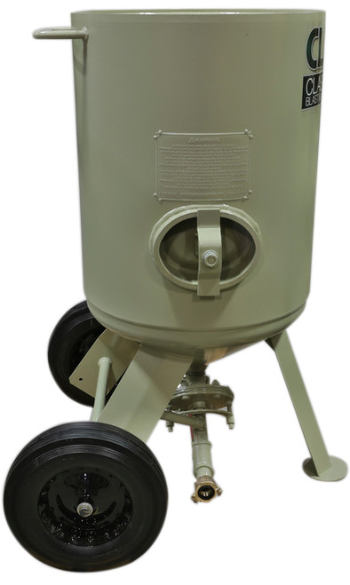 Clemco Model 2452 with FSV, Pot Only, 1-1/4 inch Piping