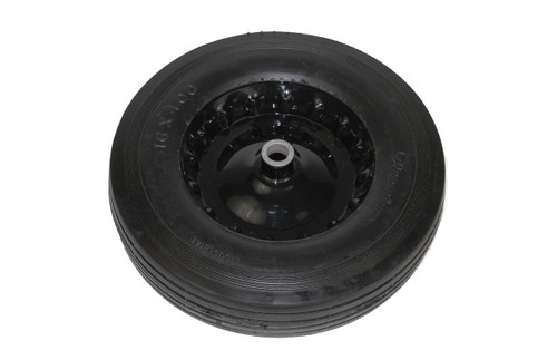 Clemco Wheel and Tire, 16 inch Diameter x 4.00 Black