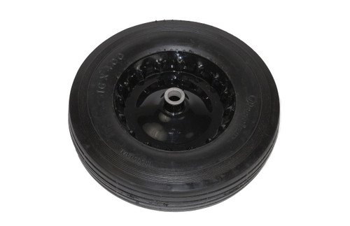 Clemco Wheel and Tire, 12 inch Diameter x 3.00 Black