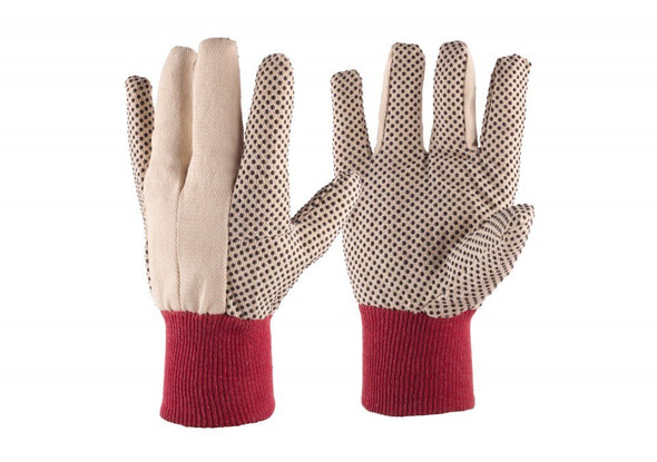 COTTON WORKING GLOVES - #D12OZ