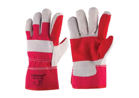 WORKING LEATHER GLOVES - 555