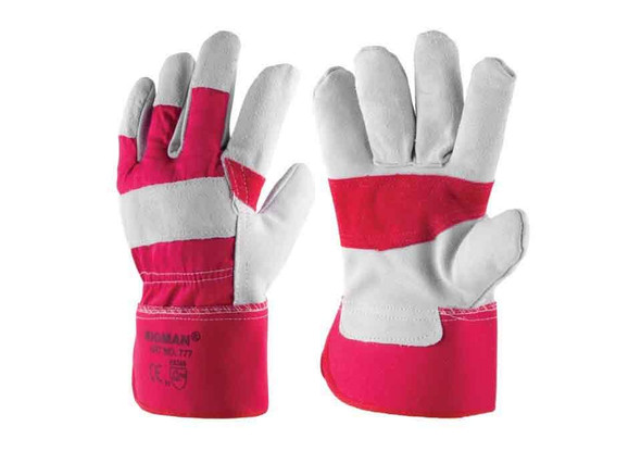 WORKING LEATHER GLOVES - 777