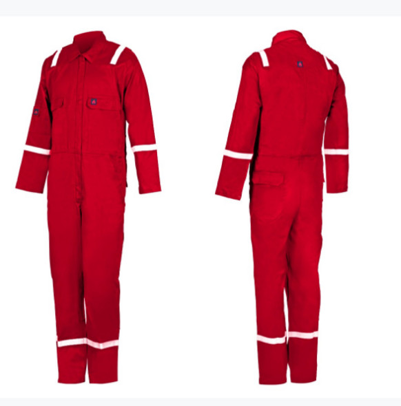 Fire Retardant COVERALL - R9025 Red