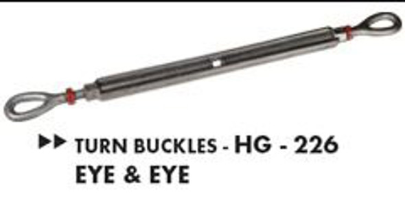 Turn Buckles HG- 226 Eye & Eye