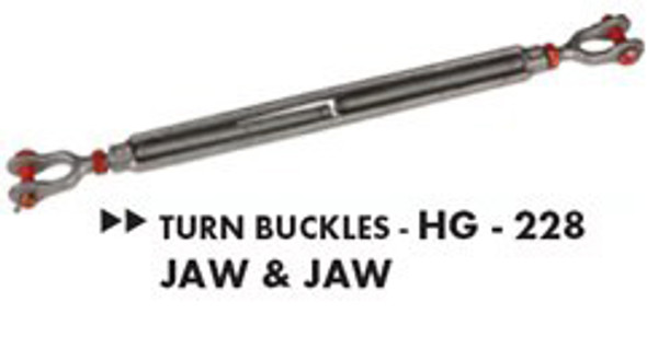 Turn Buckles HG- 228 Jaw & Jaw