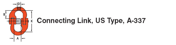 Connecting Link US Type A-337