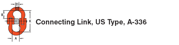 Connecting Link US Type A-336