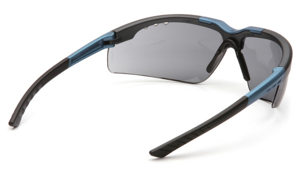 Pyramex Reatta SNC4820D Gray Lens with Blue/Charcoal Frame