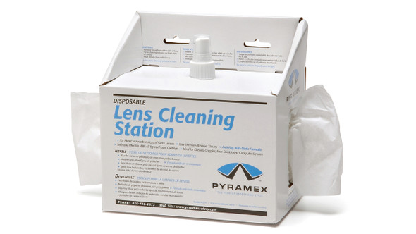 Pyramex LCS 10 Lens Cleaning Station