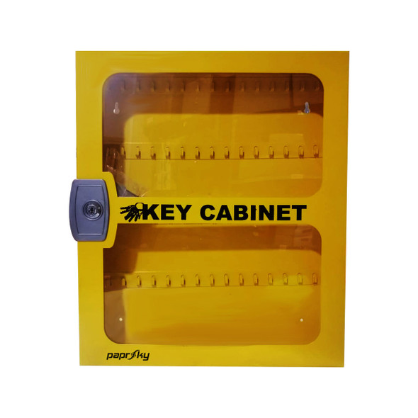 Model #2 Key Cabinet with Clear Fascia 60 Keys
