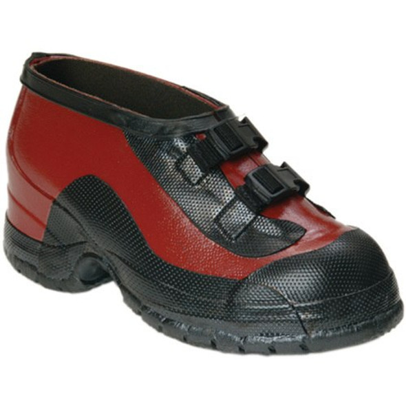 Salisbury Red Rubber Two Buckle Storm Overshoes 51509