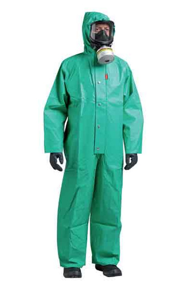Honeywell Northylon Collar BSN1G Chemical Coverall