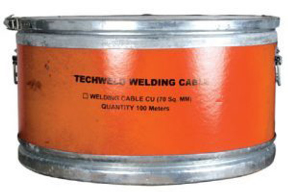 DOUBLE INSULATED WELDING CABLE (ORANGE)