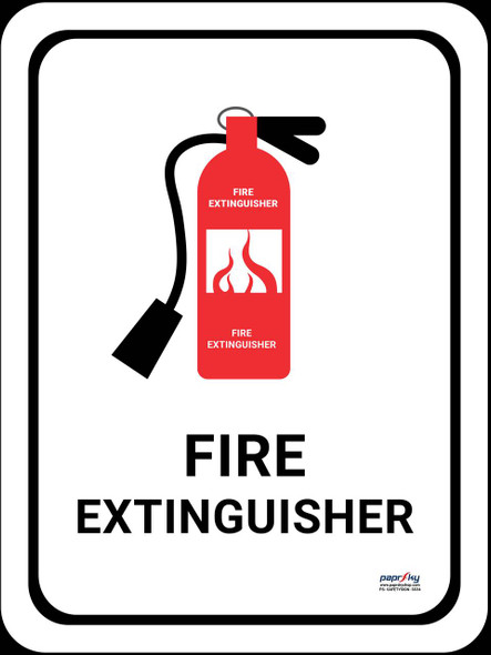 Safety sign - Fire Extinguisher