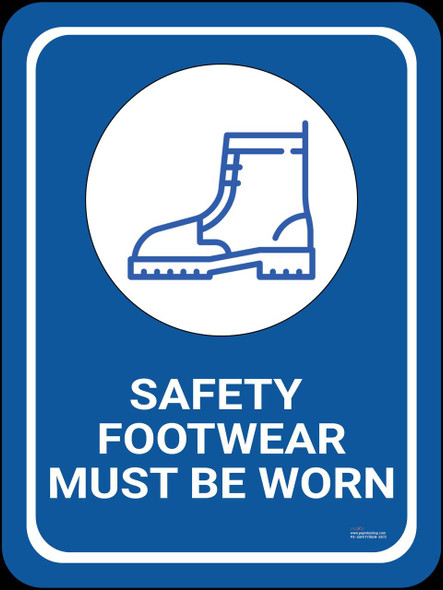 Safety sign - Safety footwear must be worn