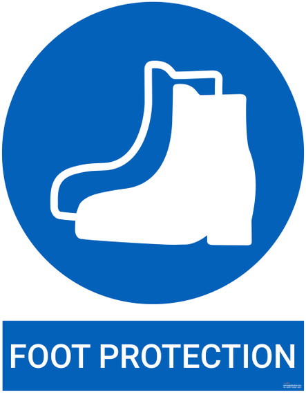 Safety sign -  Foot Protection