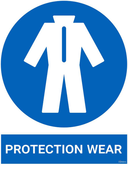 Safety sign - Protection Wear