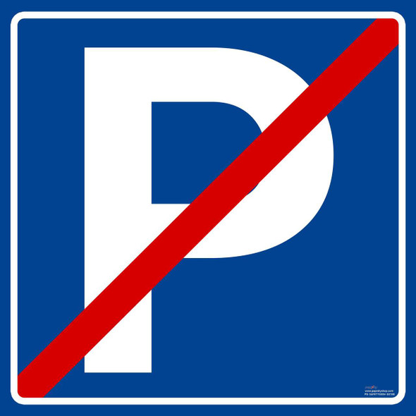 Safety Sign - No Parking