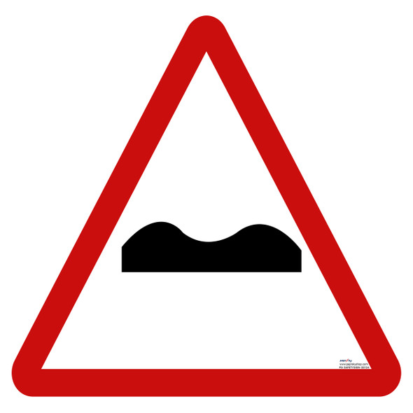 Safety Sign - Uneven road