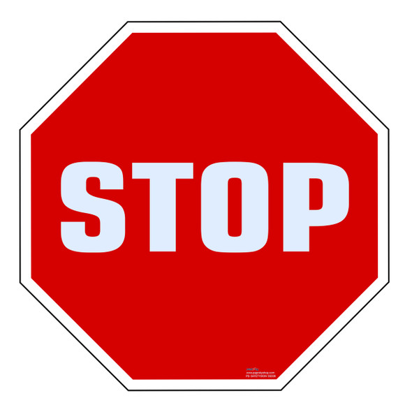Safety Sign - Stop 2