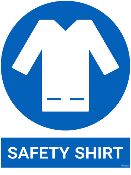 Safety sign - Safety shirt