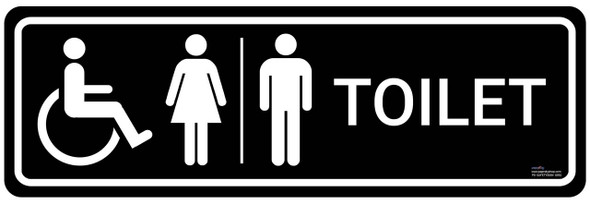 Safety sign - Toilet